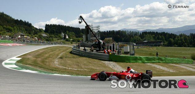 Rubens Barrichello en el GP de Austria F1 2003