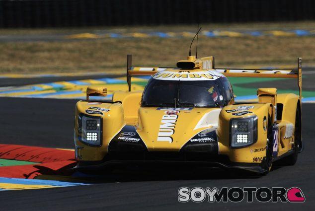 Rubens Barrichello en Le Mans a bordo del #29 de LMP2 –SoyMotor.com