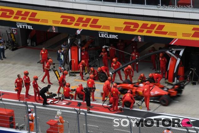 Ferrari en el GP de Rusia 2019 - SoyMotor