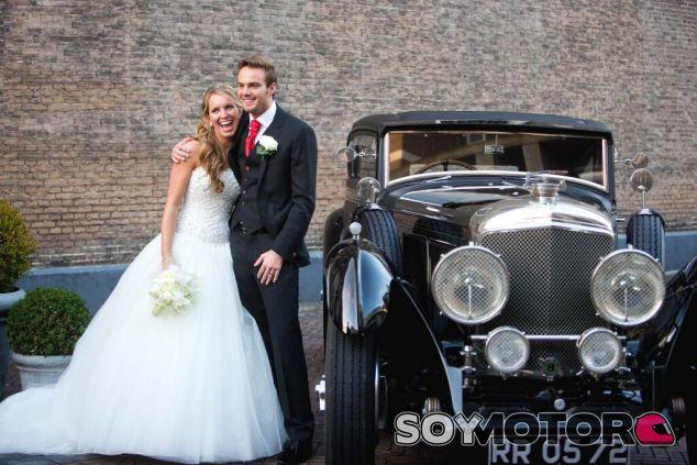 Fotografía de la boda de Giedo van der Garde y Denise Boekhoorn - LaF1