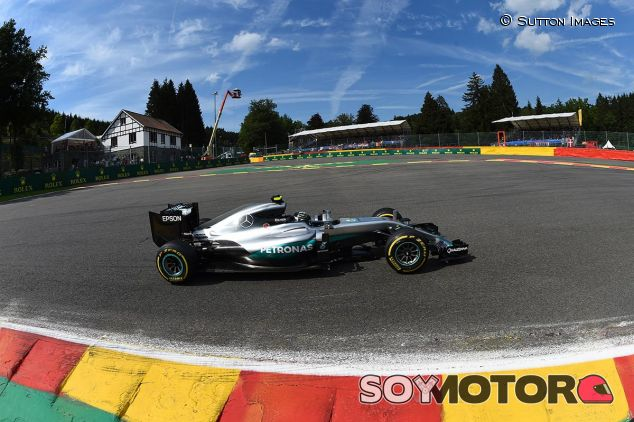 Nico Rosberg en Bélgica - SoyMotor