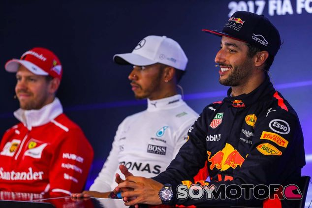 La rueda de prensa del GP de Bélgica - SoyMotor