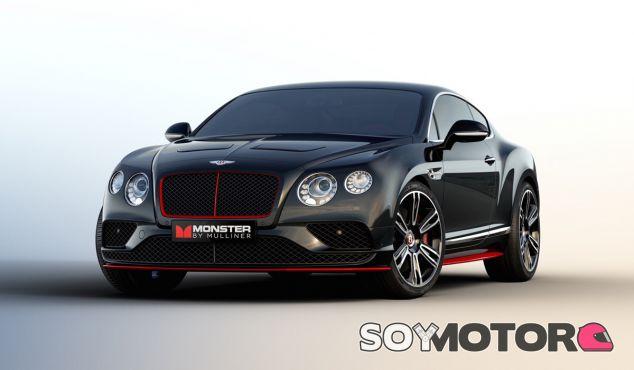 Diseño atractivo y un equipo de sonido 'imposible'. Así es el Bentley Continental GT 'Monster by Mulliner' - SoyMotor