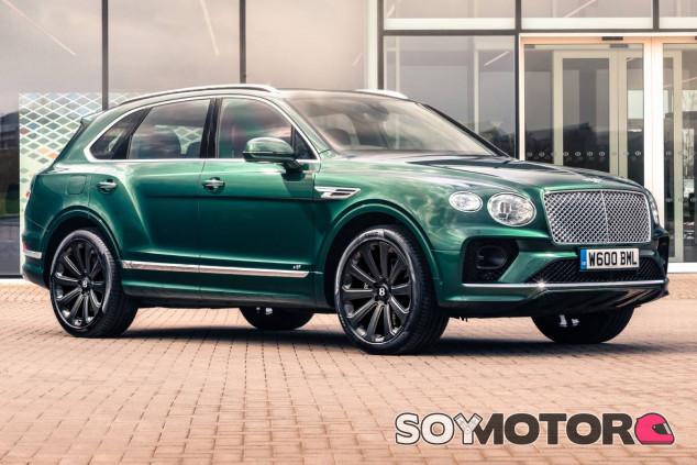 Llantas de fibra de carbono para el Bentley Bentayga: ¿por qué no?
