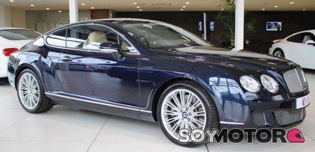 Bentley Continental GT Speed a subasta - SoyMotor