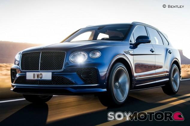 Bentley Bentayga Speed 2021: retoques para el SUV más rápido - SoyMotor.com