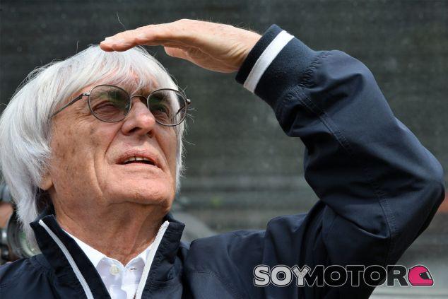 Bernie Ecclestone en el Gran Premio de Bélgica - LaF1