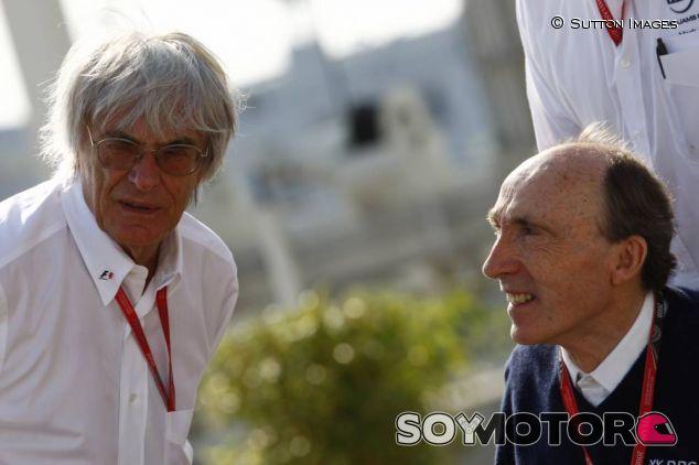 Bernie Ecclestone junto a Frank Williams - LaF1
