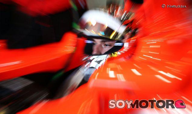 Jules Bianchi en Silverstone