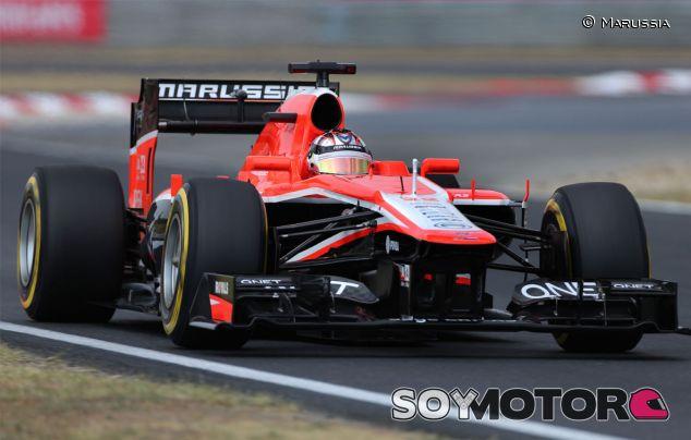 Jules Bianchi a los mandos del MR02