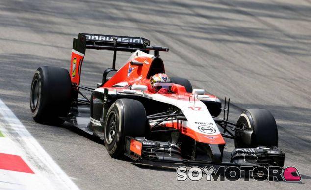 Jules Bianchi en Monza - LaF1