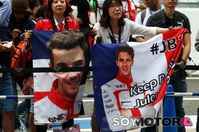 """Jules Bianchi, """"sin cambios"""" en su estado de salud"""