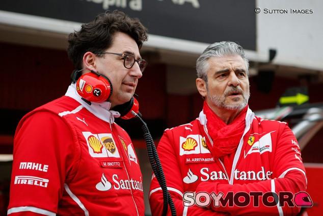 Mattia Binotto sustituirá a Maurizio Arrivabene al frente de la Scuderia Ferrari, según prensa italiana - SoyMotor.com