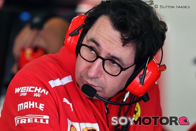 """Binotto y las órdenes de equipo: """"El problema desaparecerá si tenemos un coche rápido"""" - SoyMotor.com"""