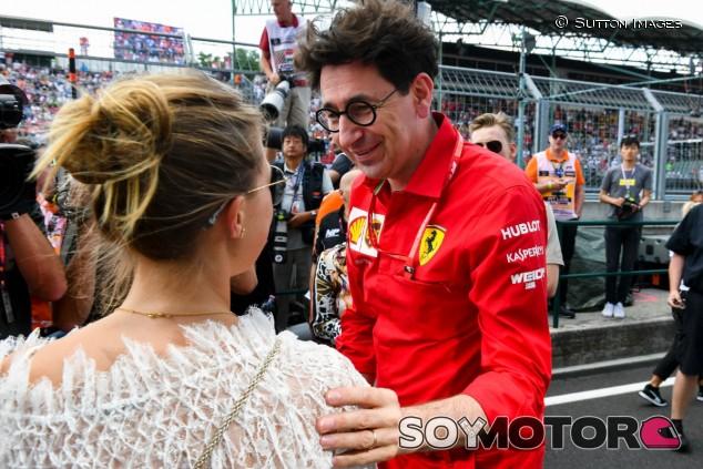 Mattia Binotto en el GP de Hungría F1 2019 - SoyMotor.com