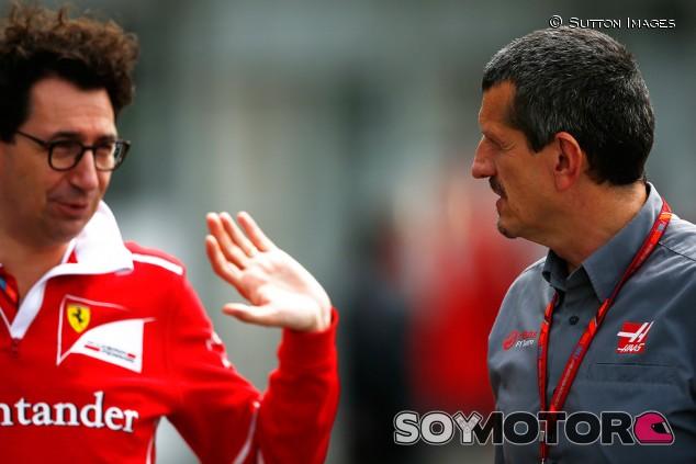 """Haas, sobre Ferrari y Alfa Romeo: """"Estaré contento mientras tengamos lo prometido"""""""