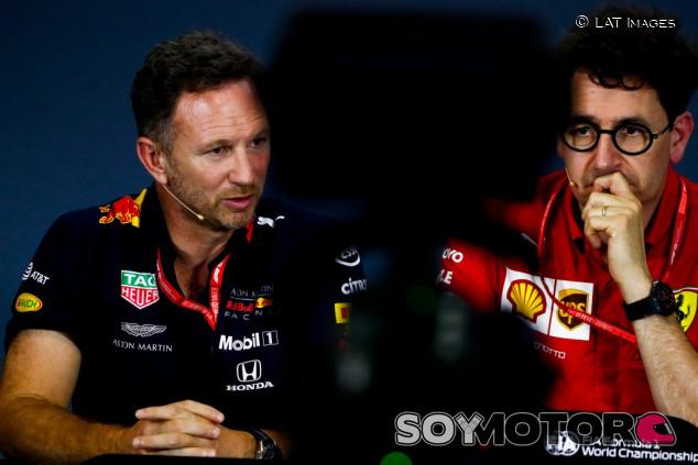 Red Bull estuvo cerca de usar motores Ferrari en 2022 - SoyMotor.com