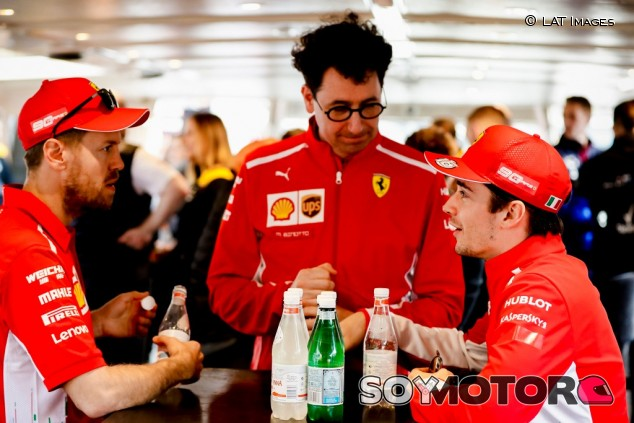 "Binotto: ""Ferrari ama a Sebastian como piloto y como persona"" - SoyMotor.com"