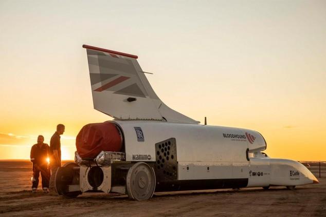Bloodhound LSR en Sudáfrica - SoyMotor.com