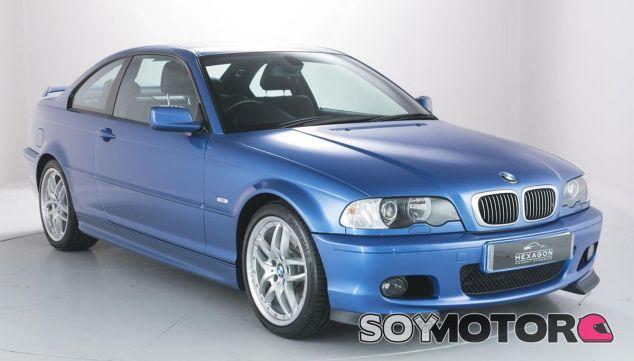 Uno de los tres BMW Serie 3 E46 que subasta Hexagon Modern Classics - SoyMotor