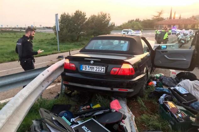 El BMW que protagonizó la persecución - SoyMotor.com