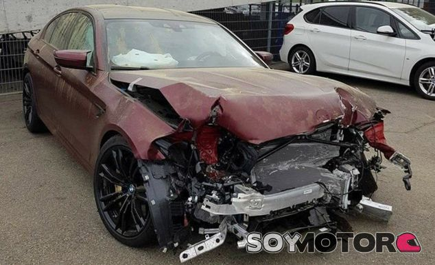 Así ha quedado uno de los 400 BMW M5 First Edition. Dan ganas de llorar - SoyMotor