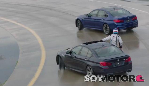El BMW M5 recupera el récord del derrape más largo del mundo - SoyMotor.com