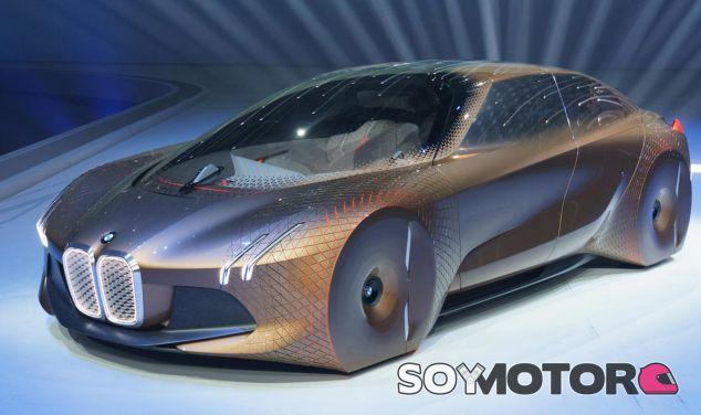 El BMW Vision Next 100 Concept es la muestra del futuro autónomo de la marca - SoyMotor