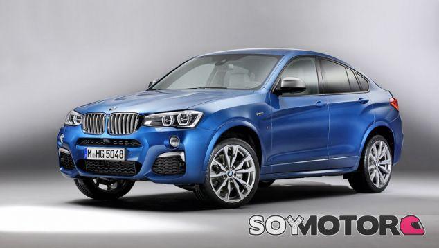 El BMW X4 M40i equipa un kit de carrocería M Aerodynamic Packake - SoyMotor