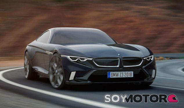 El frontal de este render del BMW Z3 M Coupé es muy reconocible - SoyMotor