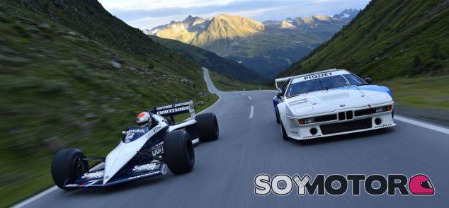 Piquet Jr. prueba en los Alpes los mejores BMW de la historia