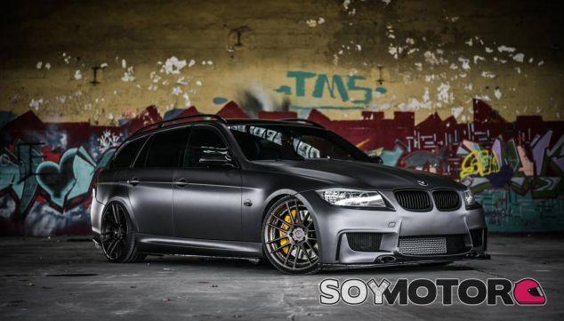 Radical y desenfadado, esa es la imagen de este BMW 335i Touring - SoyMotor