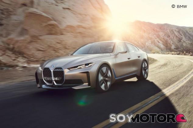 BMW Concept i4: presentado con 600 kilómetros de autonomía - SoyMotor.com