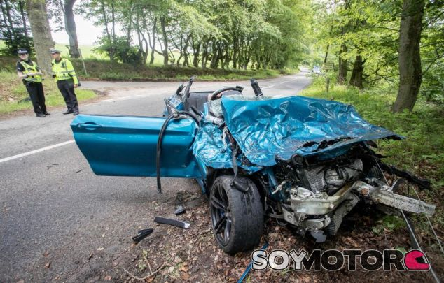 BMW M2 Accidente - SoyMotor.com