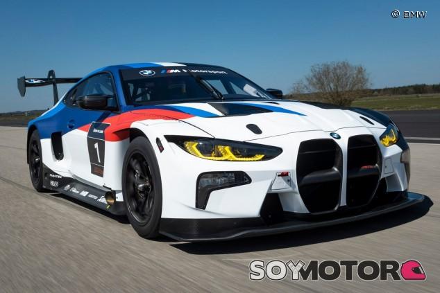 BMW M4 GT3: debut camuflado y estreno en 2021 - SoyMotor.com