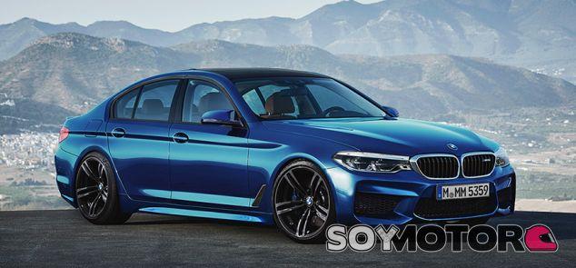 Diseño del BMW M5 realizado por X-Tomi - SoyMotor.com