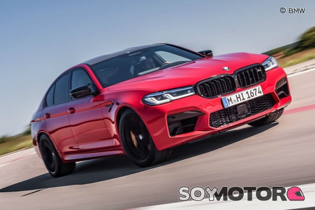BMW M5 2021: restyling, dos versiones y hasta 625 caballos - SoyMotor.com