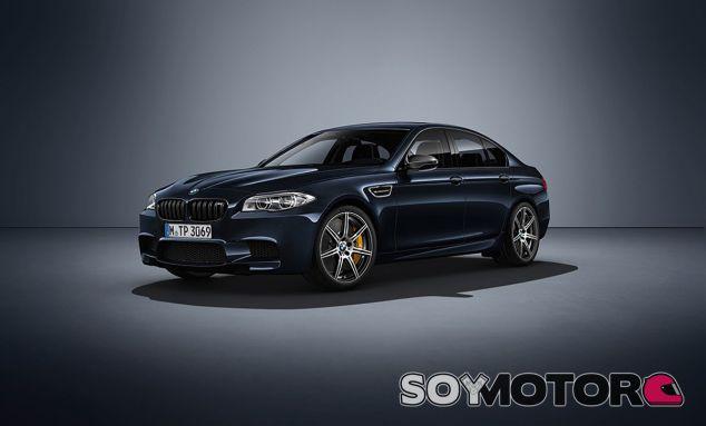 El BMW M5 Competition Edition mejora en 40 caballos la potencia del modelo de serie - SoyMotor