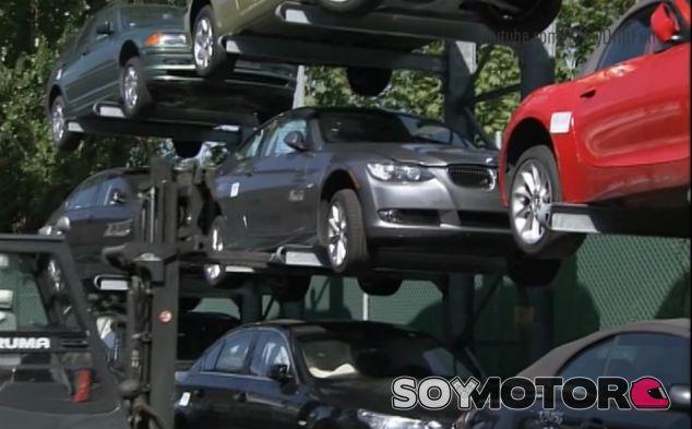 ¿Cómo recicla BMW sus modelos?: Así es su 'ecoparking' - SoyMotor.com