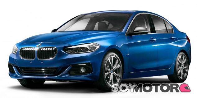 BMW Serie 1 Sedan: sólo para China