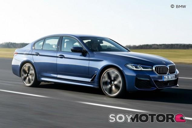 BMW Serie 5 2021: renovación y doblete híbrido enchufable - SoyMotor.com