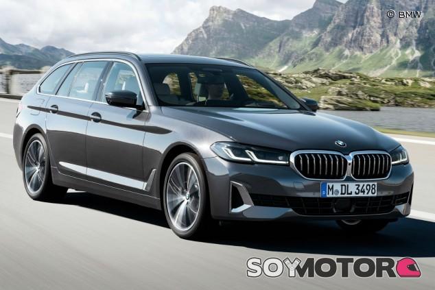BMW Serie 5 Touring 2021: puesta al día también en formato familiar - SoyMotor.com