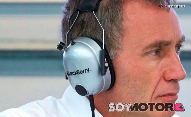 Bob Bell en su etapa en Mercedes - LAF1.es
