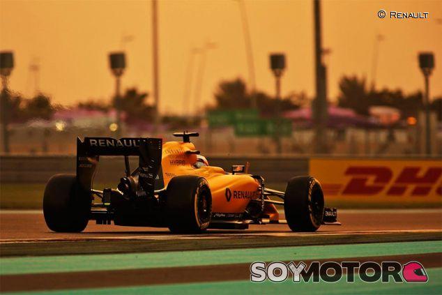 Renault en el GP de Abu Dabi 2016 - SoyMotor