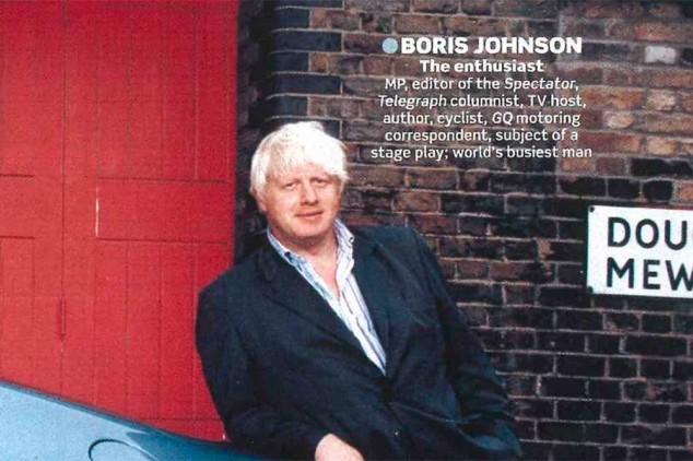 Boris Johnson en una revista - SoyMotor.com