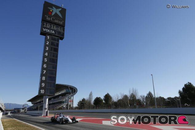 Los test de pretemporada serán en Barcelona - LaF1.es