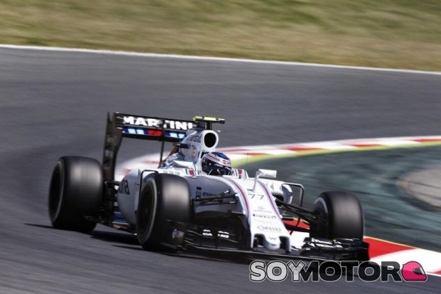 Valtteri Bottas con el Williams en Barcelona - LaF1