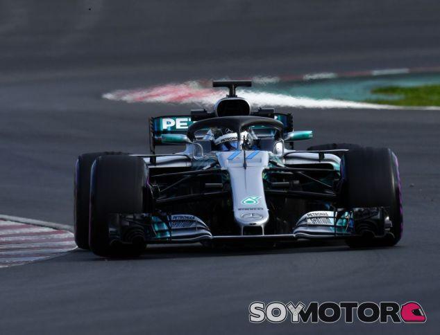 Valtteri Bottas en el circuito de Montmeló - SoyMotor.com