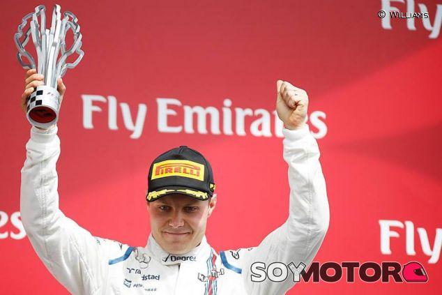 Valtteri Bottas en el podio de Canadá - LaF1.es