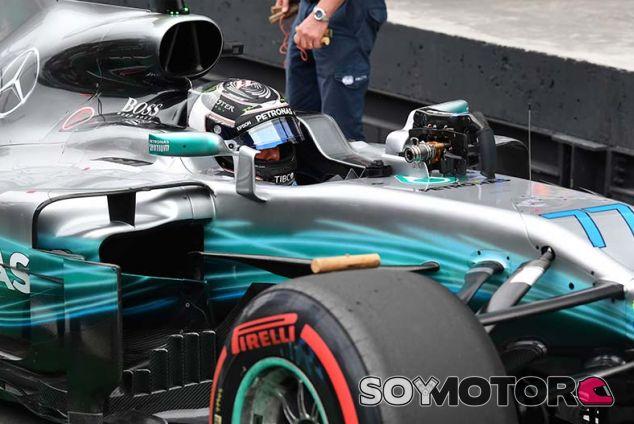 Valtteri Bottas en Brasil - SoyMotor.com